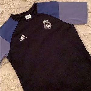 Adidas Real Madrid Tee - Boys M